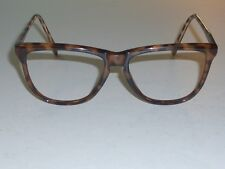 VINTAGE BAUSCH & LOMB W1556 TORT TRADITIONALS EYEGLASS/SUNGLASSES FRAMES ONLY