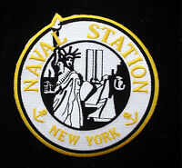US NAVAL STATION NEW YORK US NAVY PATCH NAS USS NY Staten Island 911 TOWERS WOW