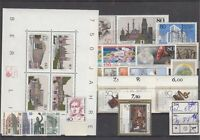 Berlin Jahrgang 1987 postfrisch, mit Block 8 und  ohne  C / D Werten