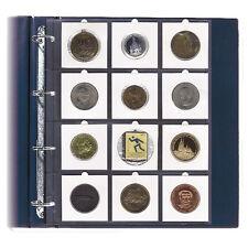 100 Hojas para 12 cartones de monedas.
