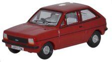 Oxford 76FF001 Ford Fiesta Mk1 Veneciano Rojo 1/76th Escala = 00 Gauge Nuevo en