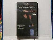 Cassette video VHS SHEILA Je suis venue te dire que je m'en vais LIVE  0817163