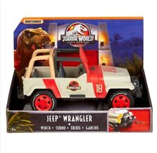 Matchbox Jurassic World Legacy Collection Jurassic Park Jeep Wrangler