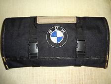 """BMW Logo/ BMW 2002-2002 tii/ ISETTA """"NEW ALL BLACK"""" !!!! Tool Roll"""