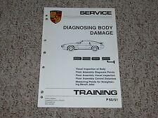 1987 Porsche 928S4 928 S4 Body Damage Shop Service Repair Manual 1988 1989