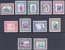 North Borneo 1939 1-25c Pictorial SG 303-313 Scott 193-203 LMM/MLH Cat£250($385)