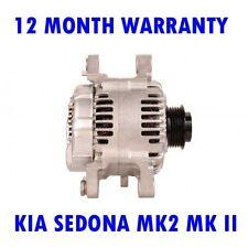 KIA SEDONA MK2 MK II 2.9 CRDI MPV 2006 2007 2008 2009 - 2015 ALTERNATOR