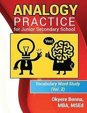 Analogy Practice for Junior Secondary School: Vocabulary Word Study(Vol. 2) (Voc
