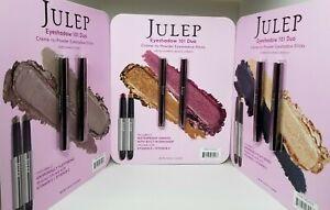 JULEP Creme To Powder Eyeshadow 101 Sticks, 6 Shades