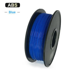 1.75mm 3D Printer Filament PLA/ABS Accuracy +/- 0.02mm 2.2 LBS (1KG) Spool NEW