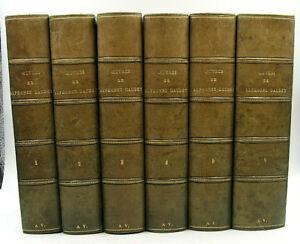 DAUDET, Alphonse - Œuvres complètes - 6/6 - Fayard Frères - [circa 1900] - TBE