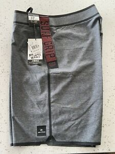 Men's Rip Curl Board Shorts Size 32 Mirage Surf Trunks Stretch NWT!
