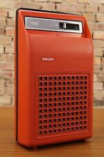 PHILIPS GF 133 PLACA GIRATORIA PORTABLE MALETA VINTAGE 70s Batería WINDUP