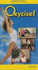 Oxycise! VHS Introduction to Oxycise Basic Breath & Techniques New Sealed