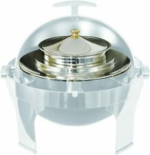 Crestware Soup Station for Round Elegance Chafer For Buffet Server (Insert Only)