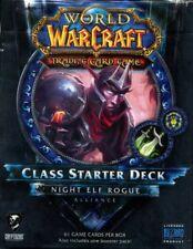 New Sealed Class Starter Deck Night Elf Rogue Alliance World of Warcraft WoW TCG
