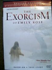 The Exorcism of Emily Rose (DVD, 2005, Special Edition, Rated) True Story