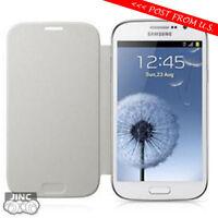 Original Genuine Samsung GT-i9080 GT-i9082 Galaxy Grand Flip Cover Case WHITE