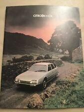 Citroen CX Brochure - September 1978