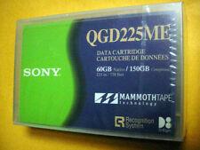 Sony QGD225ME 8mm 225m Mammoth Tape 60/150GB Data Cartridge ~ NEW