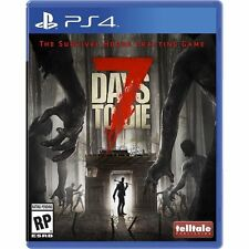7 DAYS TO DIE PS NEW VIDEO GAME