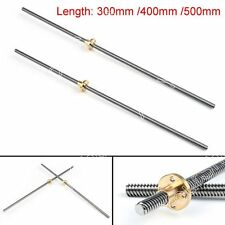 300mm Accessory Stainless Steel T8-2-D8 Trapezoidal Lead Screw For 3D Printer B1