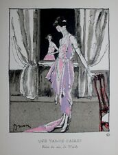GAZETTE DU BON TON N°6-1920  NUMERO COMPLET LEPAPE DRIAN JOURDAIN ZINOVIEW...