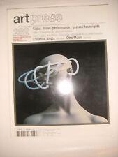 Art Press N°282 Angot Otto Muehl Guy de Cointet Mike Kelley Aitken Max Beckmann