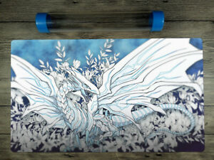 YuGiOh lue-Eyes Alternative White Dragon Trading Card Game Playmat Free BestTube