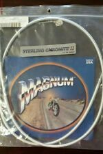 NOS Magnum Chromite II Idle Cable 51-1/2 342112 0651-0228 OEM 56375-96 +12""