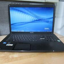 Toshiba Satellite C870 1.8ghz 4GB Ram Windows 7 580 GB Hard Drive--- Needs Work