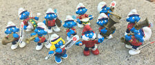 Schleich Smurfs Marching Band Set of 12 different Figures New