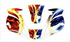 Miller Digital Elite Titanium Welding Helmet Wrap Decal 1600 9400 Welder Color S