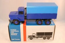 Lion Car 72 DAF N2800 Torpedo Truck rare promotional blue mint in box SUPERB