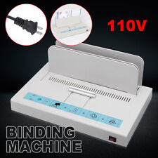 A4 Thermal Binding Machine Contract Document Invoice Electronic Binding 110v