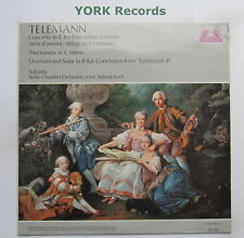 89 543 - TELEMANN - Concerto For Flute / Oboe D'Amore BERLIN CO - Ex LP Record