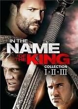 IN THE NAME OF THE KING COMPLETE ~ TRILOGY ~ 3 MOVIE BOX SET ~ DVD ~ New