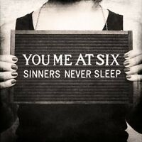 "YOU ME AT SIX ""SINNERS NEVER SLEEP"" CD NEU"