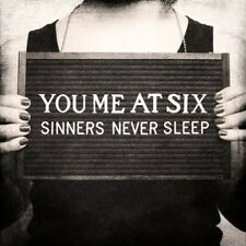 "You Me at Six ""Sinners Never Sleep"" CD NUOVO"
