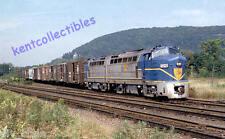 Delaware & Hudson Baldwin RF16 postcard diesel locomotives railroad train
