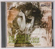 JANACEK: Diary of One who Disappeared Palenicek DENON Supraphon Japan '85 CD ED1