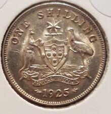 1925 australian Shilling coin