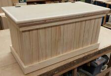 Children's Wooden Toy Box/Blanket Storage Box