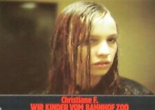 CHRISTIANE F. - WE CHILDREN FROM BAHNHOF ZOO - Lobby Cards Set - David Bowie