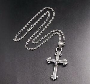 bone cross pendant Withered Bone Cross Pendant Handmade art gothic cross Bone dagger pendant vampire slayer cross crucifix goth necklace