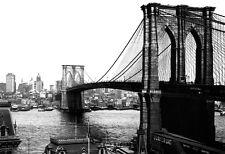 Brooklyn Bridge Poster, New York City, ca.1904
