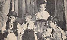 B72081 Copii tinutul Sibiu children types romania Hermannstadt Nagyszeben