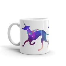 "Greyhound ""Greynicorn"" Mug Dog Mugs Greyhound / Unicorn Lurcher design Xmas gift"