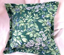 "NEW PILLOW 16"" x 16"" /1  BRAMBLE FLORAL Custom Made w/ Laura Ashley fabric"