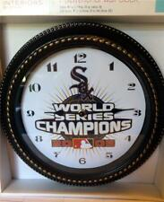 """CHICAGO WHITE SOX 2005 WORLD SERIES CHAMPS - 12"""" WALL CLOCK"""